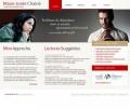 Services presentation website